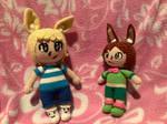Alphonse Fluff and Simon Flutter Crochets