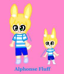Alphonse Fluff (Pose Redraw)