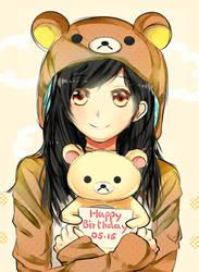 Happy bday hizuzu-chan by Wendychi