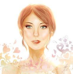 Tu es belle by Wendychi