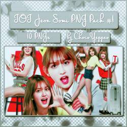 [PNG PACK] IOI Jeon Somi Cute Full Body Render #1