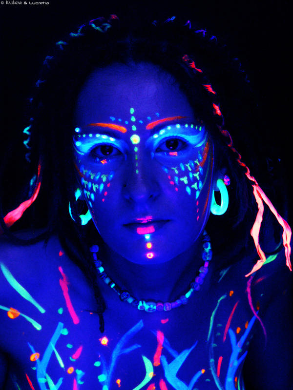 1000+ Images About Neon Face Paint Designs On Pinterest
