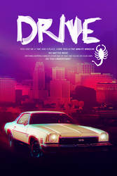 Drive Poster 90x60cm by iFadeFresh