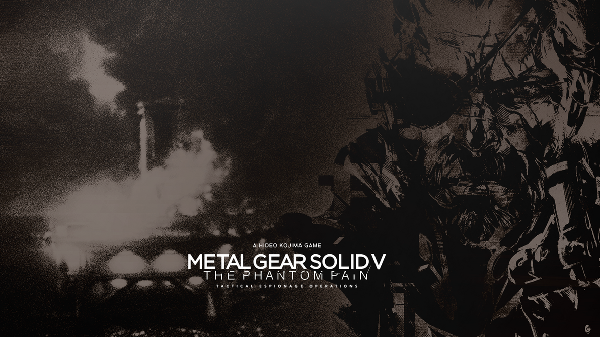 Metal Gear Solid V: The Phantom Pain Wallpaper by iFadeFresh