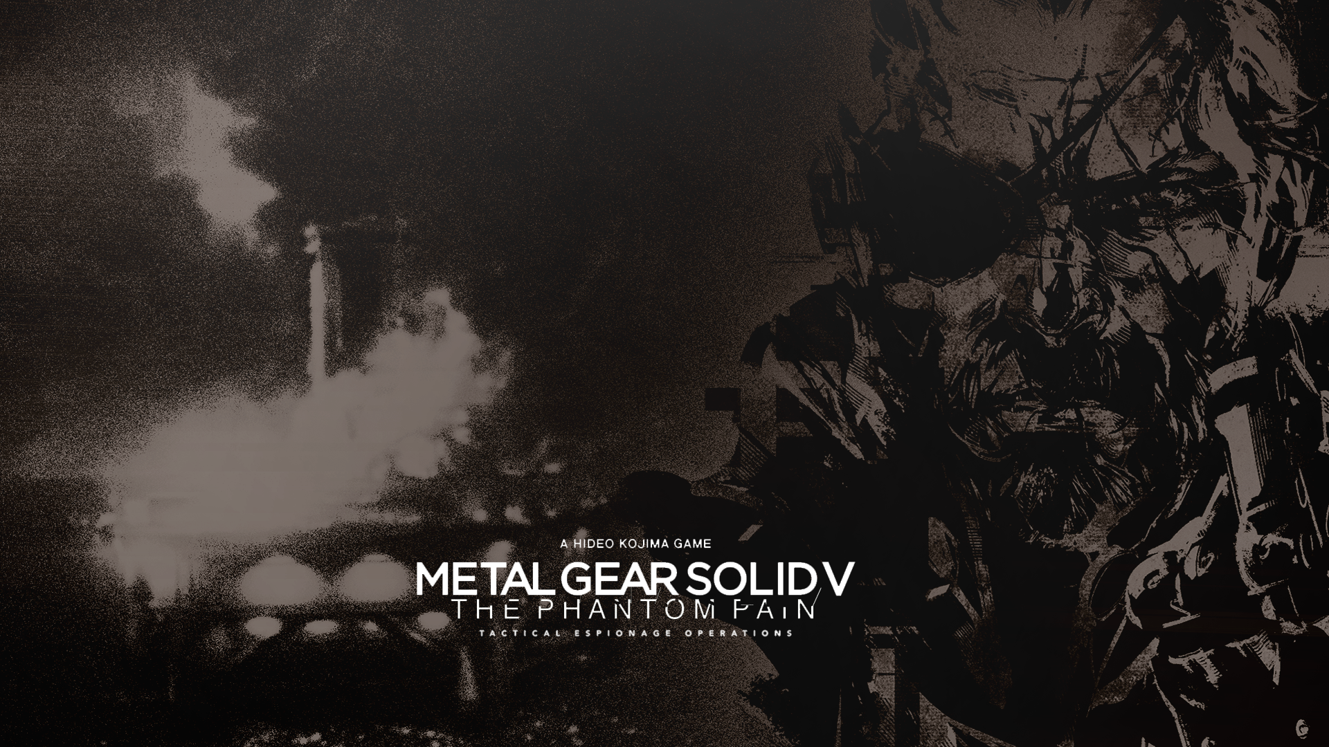 metal gear solid v the phantom pain wallpaper by ifadefresh on