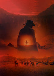 Red Dead Redemption 2 poster/cover (NO TEXT)