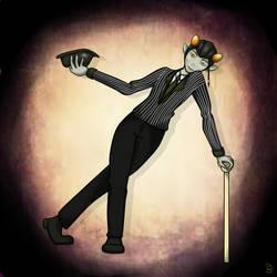 Mr.Pinstripe suit by AuggieBug