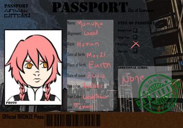 Scarmoor Passport: Momoka by AuggieBug
