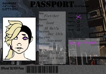 Scarmoor Passport: Fletcher by AuggieBug