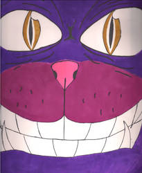 Cheshire Cat by Noma