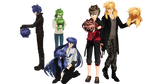 [MMD] Bronze Saint Hair Pack [DL] by castymaat