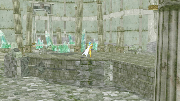 Piscis Temple Stage