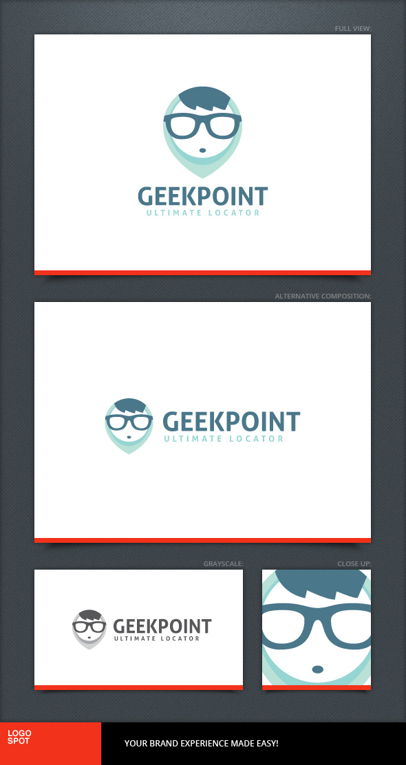 Geek Point Logo Template by LogoSpot