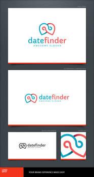 Date Finder Logo Template