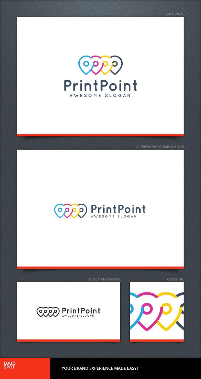 Print Point Logo Template