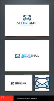 Secure Mail Logo Template