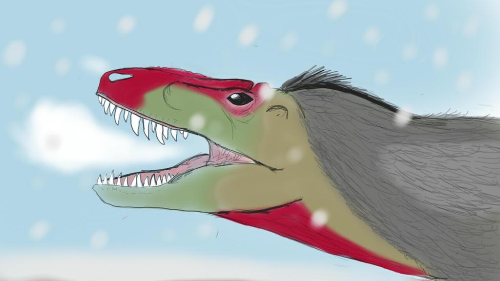 Snow feild howler by Dinoal188