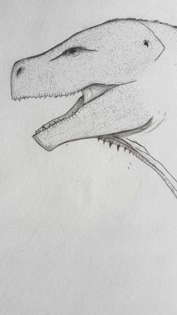 Godzilla prtrait. by Dinoal188