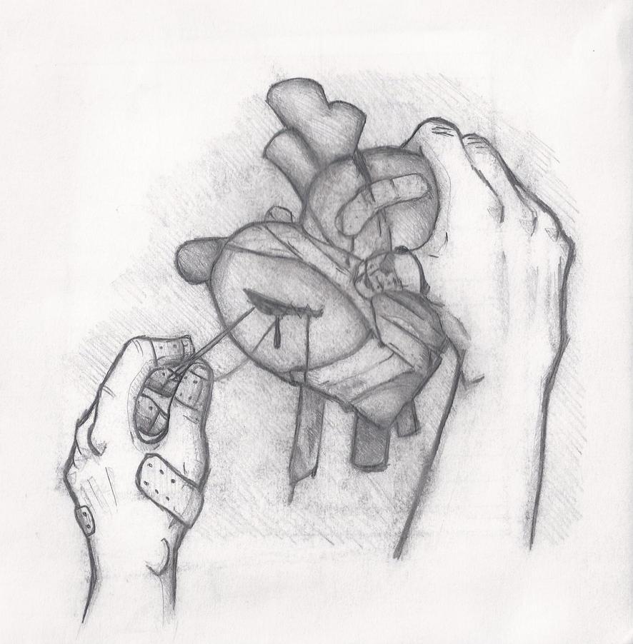 Fixing A Broken Heart By SirQuantum On DeviantArt