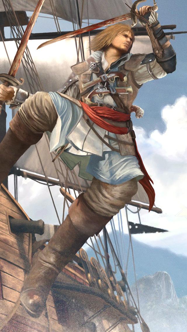 Edward Kenway Assassin's Creed IV by sangilustrator