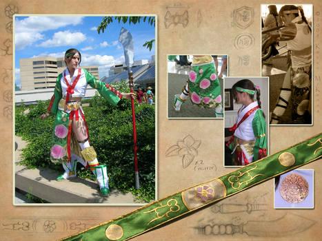 Seong Mi-Na cosplay costume