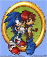 Sonic and Sally by souldreamx