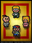 Earthbound Magnets - The Chosen Four