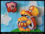 Epic Yarn Adventures - Kirby + Dedede Magnets