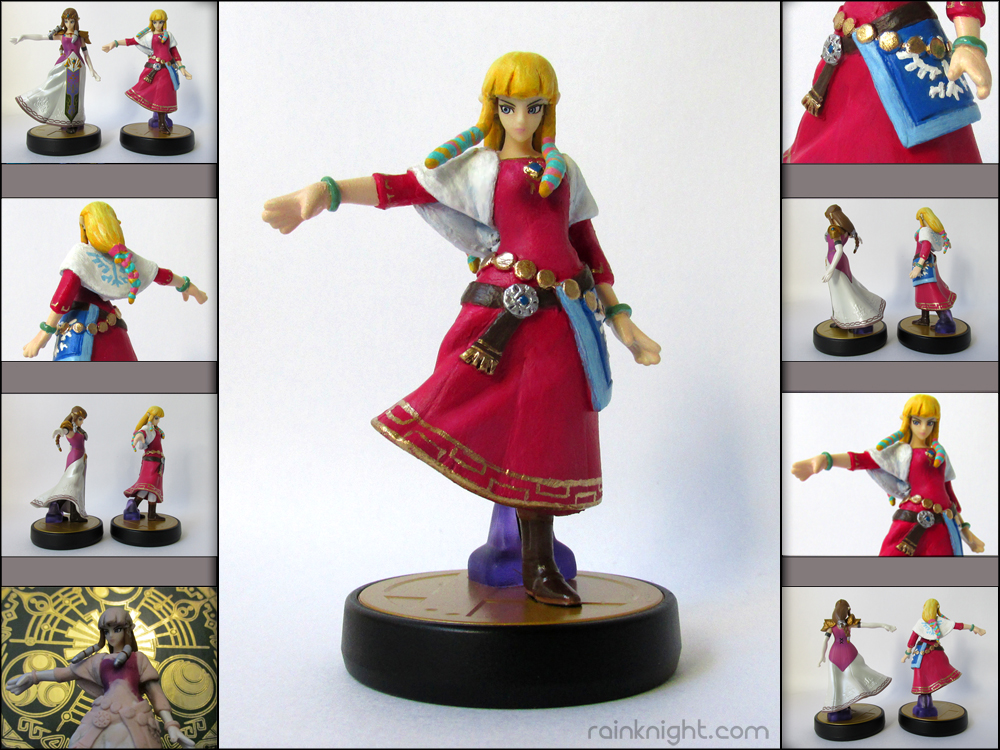Amiibo Mod - Skyward Sword Zelda by souldreamx on DeviantArt