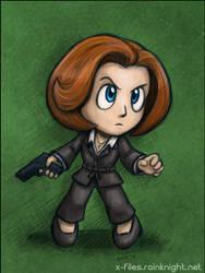Tiny Badass Scully