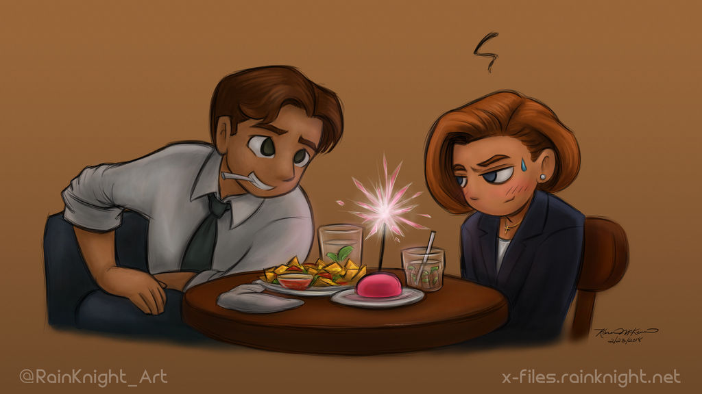 I didn't know it was your birthday, Scully.