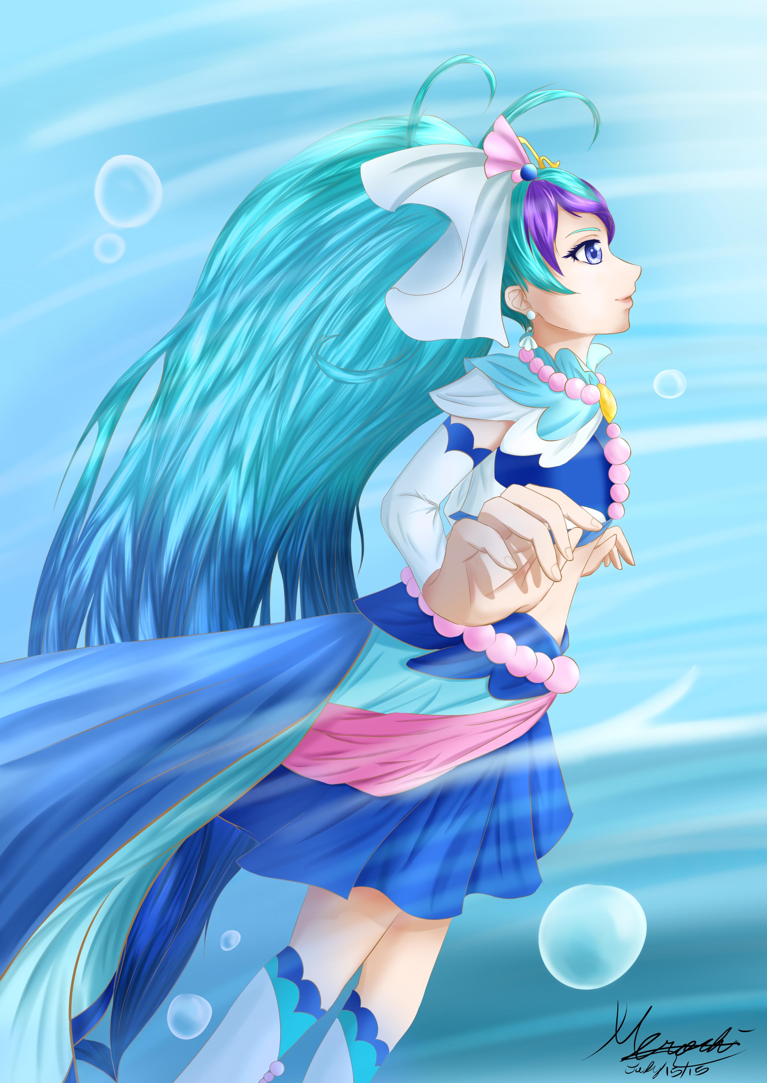 .::The Little Mermaid::. by Ayasal on DeviantArt   Nàng ...  Manga Mermaid Princess