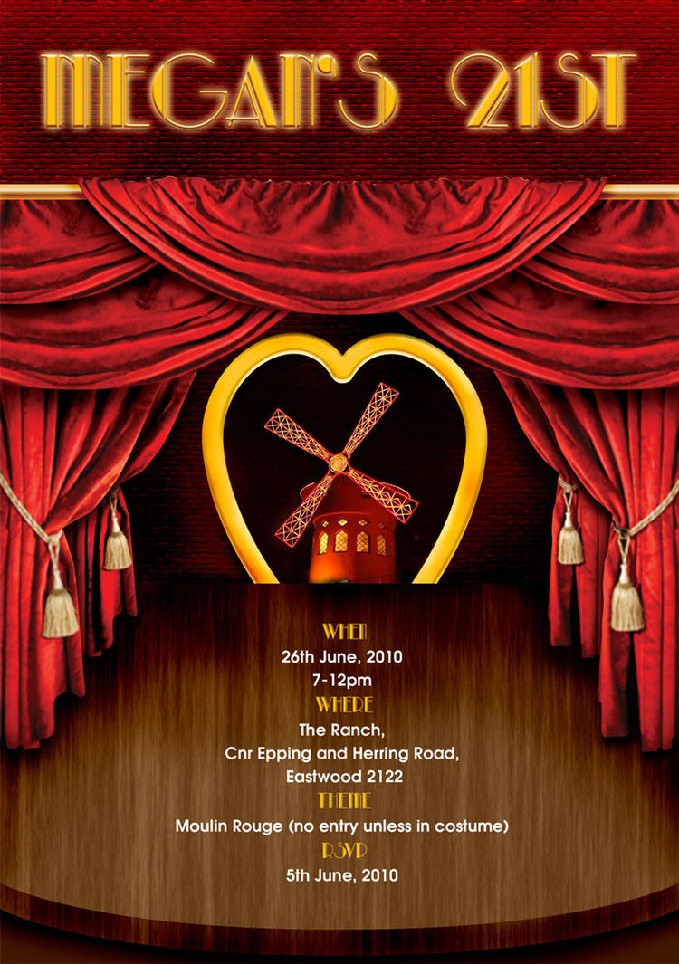 Moulin Rouge Invitation by scosborne on DeviantArt