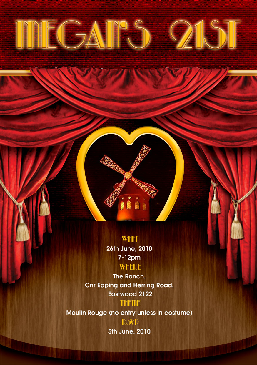 Pictures Of Moulin Rouge Invitation Www Kidskunst Info