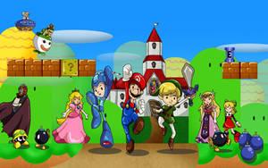 Childhood Heroes by Deus-Marionette