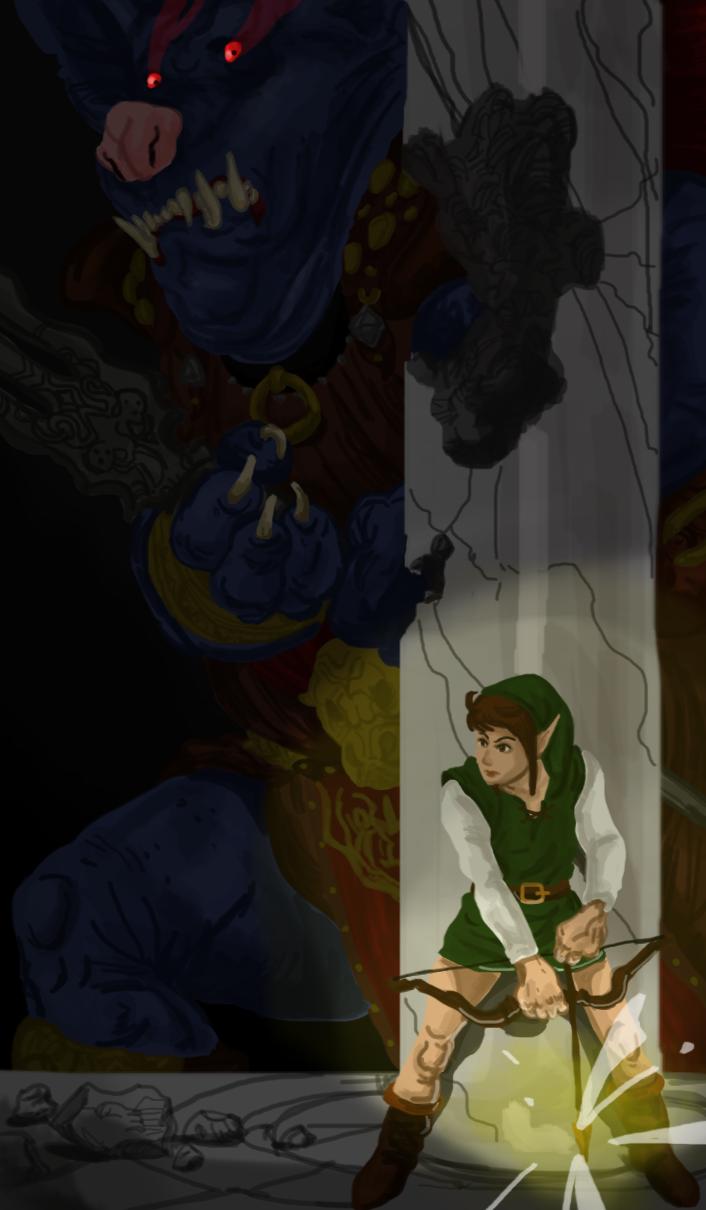 In the Dark by Deus-Marionette