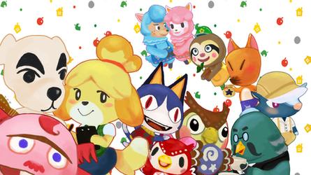 Animal Crossing by Deus-Marionette