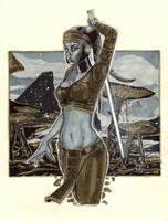 Aayla Secura by Richard Hennemann by Def-Force