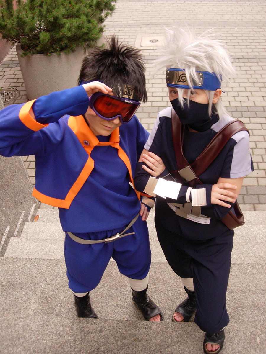 Obito and Kakashi by ToraCosplayers on DeviantArt