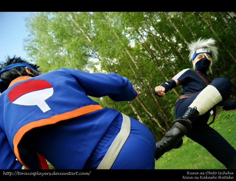 Kakashi Gaiden: Kick by ToraCosplayers