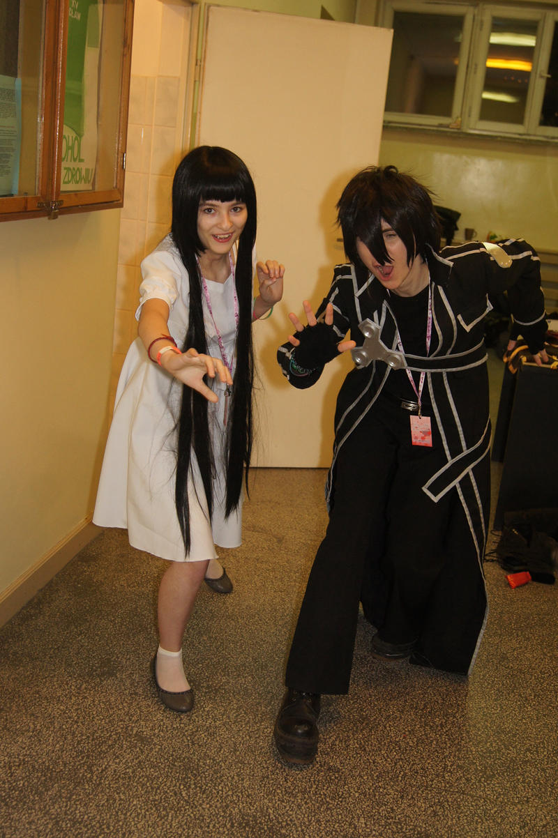 Kirito and yui s lags by toracosplayers on deviantart