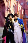 Suzaku and Lelouch