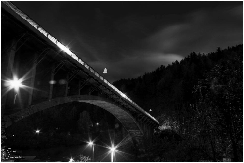 Bridge into the night