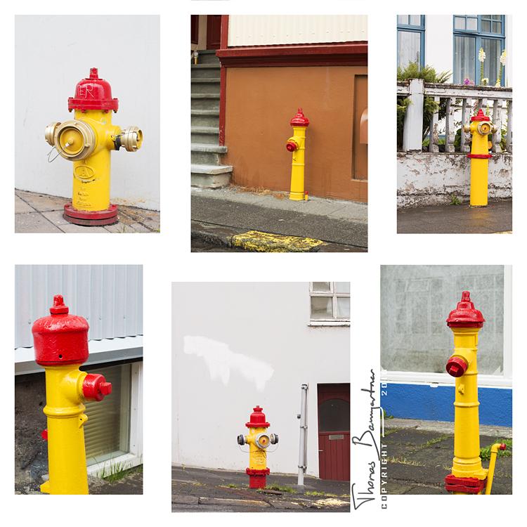 Hydrants of Reykjavik by Argolith