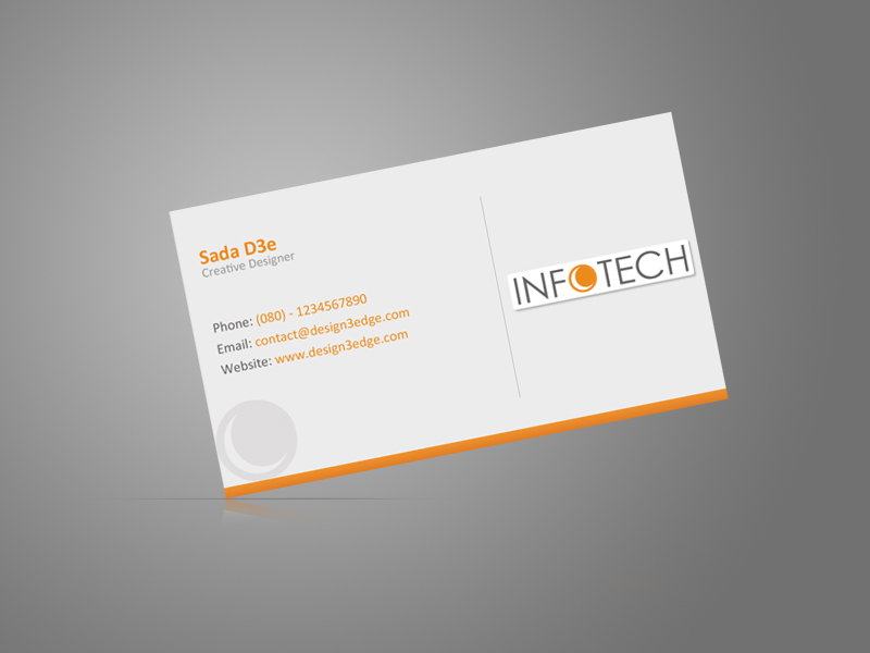 Clean business card by psadap on deviantart for Business card titles for owners