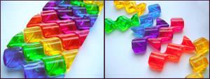 Rainbow Bracelet by charminou