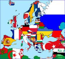 Flags of Europe by Condottiero
