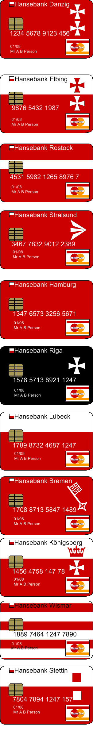 Hanseatic credit cards by Condottiero on DeviantArt