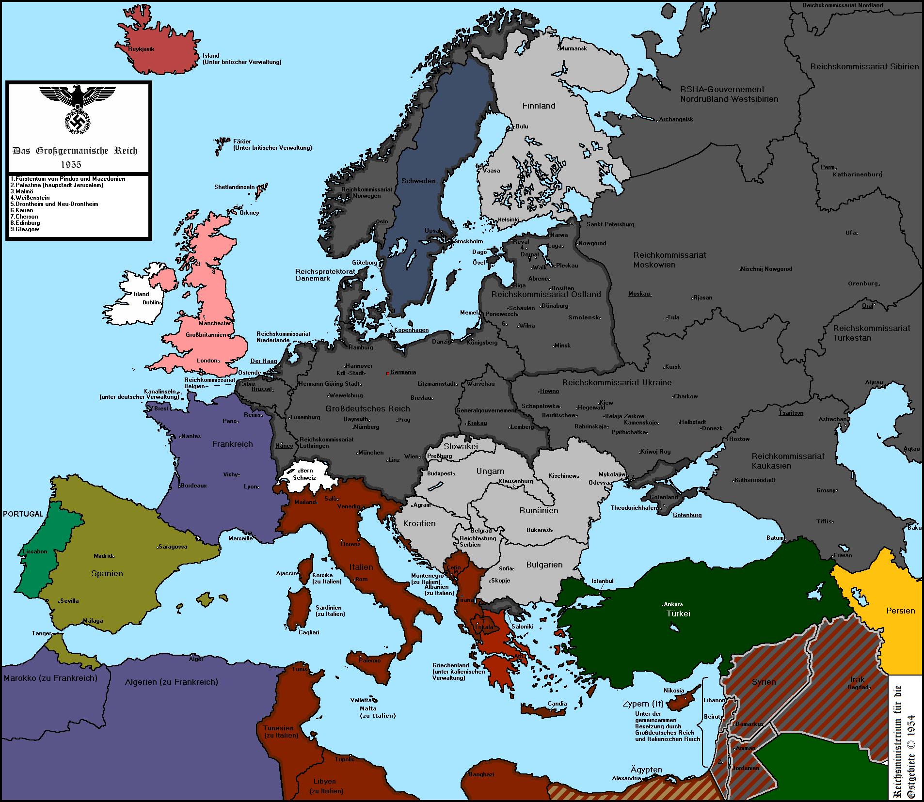 Nazi Victory 3.2 by Condottiero