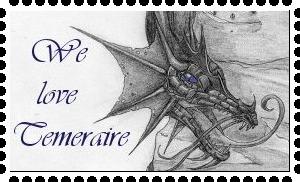 We love Temeraire-stamp by zelda-Freak91